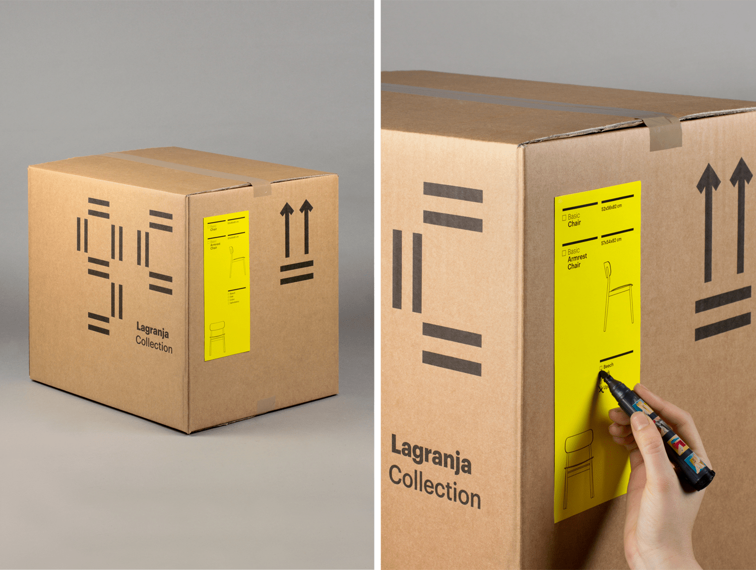 labeling boxes for your move